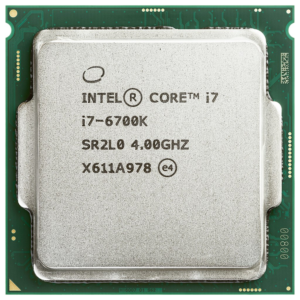 Intel CM8066201919901 CORE I7-6700K FC-LGA14C 4.10G 8M Tray Processor Cache SKYLAKE