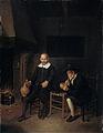 Interieur met twee mannen bij het vuur. Rijksmuseum SK-A-61.jpeg