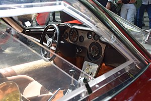 Interior of an Alfa Romeo 33.2 Stradale.jpg