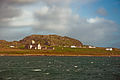 Iona Abbey from the ferry, Scotland, Sept. 2010 - Flickr - PhillipC.jpg