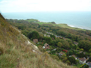 St Lawrence, Isle of Wight village in United Kingdom