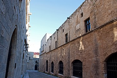 Ippoton (Street of the Knights), Rhodes 2010 2.jpg