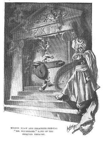 Klaw and Erlanger - Life magazine cartoon, January 21, 1904, subject of libel case