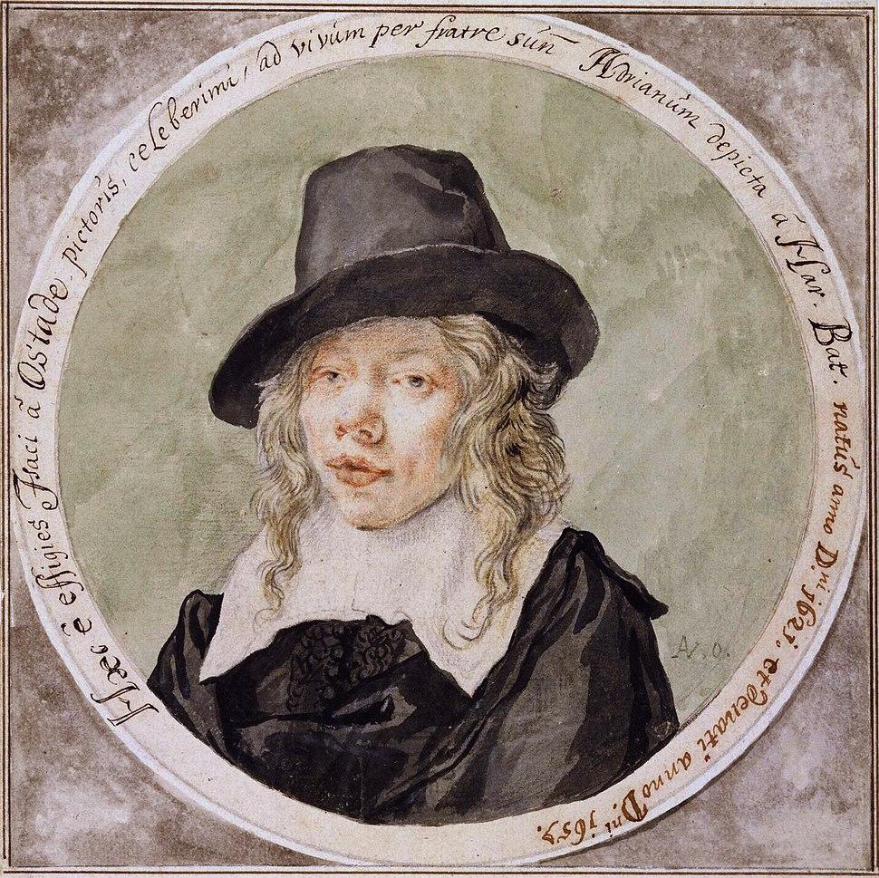 Isaac van Ostade, by Cornelis Dusart