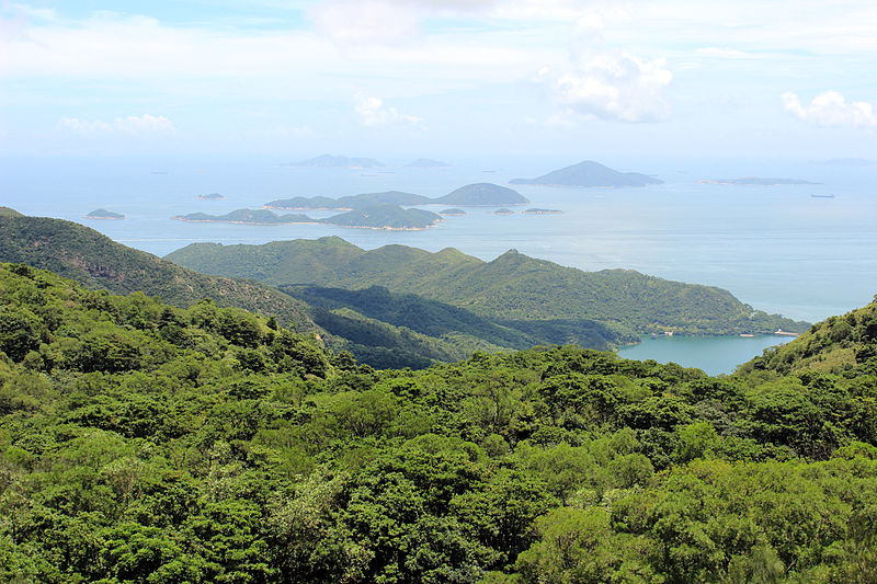 File:Island from Tian Tan Buddha.JPG