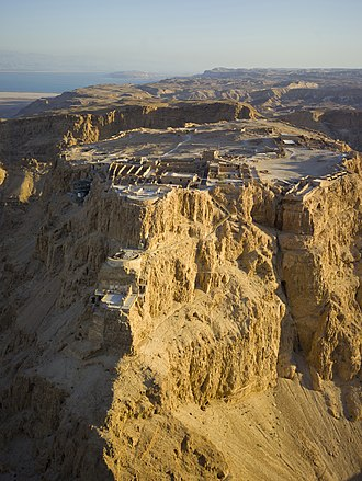 Israel - Masada fortress, location of the final battle in the First Jewish–Roman War