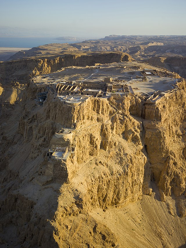 The ancient fortress of Masada