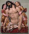 Italia del nord, cristo morto retto da angeli, 1490 ca..JPG
