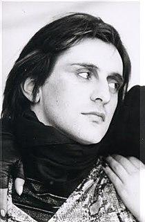 Ivan Cattaneo Italian artist, singer and songwriter
