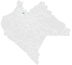 Municipality of Ixhuatán in Chiapas