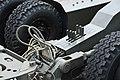 JASDF BL-4 bomb lift truck table control lever at Komatsu Air Base September 17, 2018.jpg