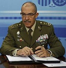 El General d'España junto al ministerio de defensa responde a Marruecos
