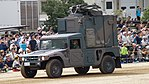 JGSDF High Mobility Vehicle(06-7523) with shelter of JMRC-C6-B left front view at Camp Itami October 8, 2017.jpg