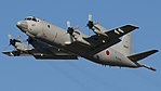 JMSDF P-3C(5067) fly over at Tokushima Air Base September 30, 2017 01.jpg