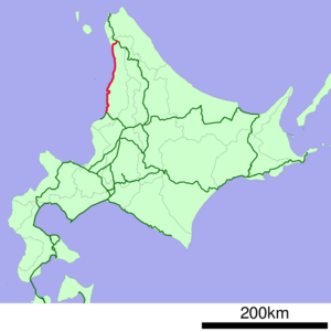 JNR Haboro Line linemap.png