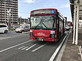 JR Kyushu Bus in front of Fukuma Station.jpg