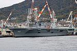 JS Ise (DDH-182). At Kure Port. November 2016.jpg