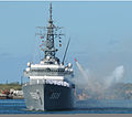 JS Kashima (TV 3508) fires a 21-gun salute at Pearl Harbor, -8 Jun. 2010 a.jpg