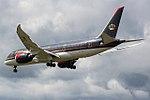 JY-BAF Boeing 787 Royal Jordanian (35208572160).jpg