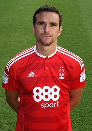Jack Hobbs (footballer) - Hobbs in Nottingham Forest kit, 2016