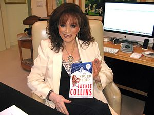 Jackie Collins - Collins in 2011