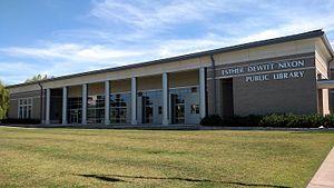 Jacksonville, Arkansas - Nixon Library in Jacksonville