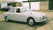 A 1968 Jaguar 340 small saloon