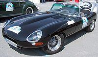 E-Type Series 1 1/2 uit 1968.