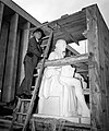 James Madison statue delivery (12369499705).jpg