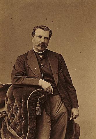 James Merritt Ives - James M. Ives, photographed by Napoleon Sarony