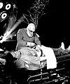 "James Randi demonstrating 'psychic surgery' on ITV series ""James Randi, Psychic Investigator"".jpg"