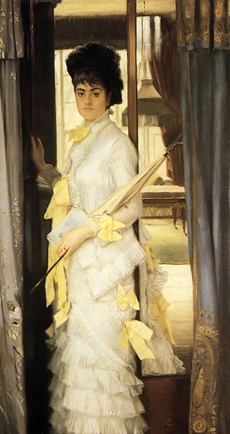 The Gallery of H.M.S. 'Calcutta' (Portsmouth) - James Tissot, Summer, 1876, Tate