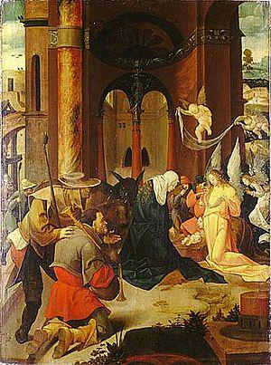 Strossmayer Gallery of Old Masters - The Birth of Christ by Jan Wellens de Cock, Strossmayer Gallery
