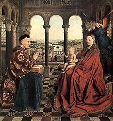 La Vierge du chancelier Rolin