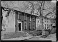 January 1975 GENERAL VIEW OF 300 NORTH ELEVENTH STREET BLOCK - Starr Historic District, Richmond, Wayne County, IN HABS IND,89-RICH,7-4.tif