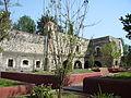 Jardín 03. Templo y Ex Convento de San Diego Churubusco..JPG