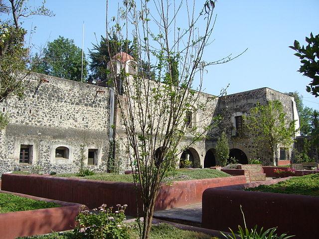 File:Jardín 03. Templo y Ex Convento de San Diego Churubusco..JPG ...