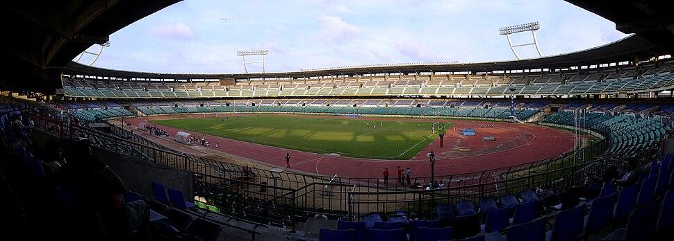 Jawaharlal Nehru Stadium Chennai panorama