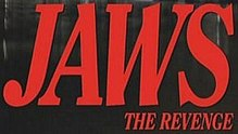 Description de l'image Jaws the Revenge logo.jpg.