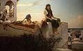 Jean Joseph Benjamin Constant, Le soir sur les terrasses (Maroc).jpg