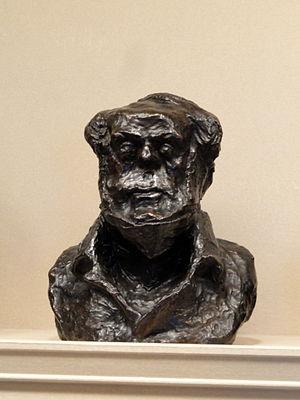 Jean Vatout - Bust of Jean Vatout by Honoré Daumier