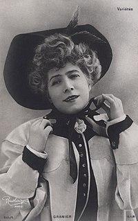 Jeanne Granier French singer