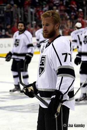 Jeff Carter - Carter during the 2012 Stanley Cup Finals