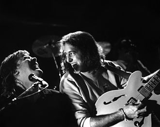 Jeff Healey - Image: Jeff Healey and Tom Lavin