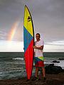 Jeff Rowley Big Wave Surfer Surfboard 10'2 Channel Islands Photo by Xvolution Media - Flickr - Jeff Rowley Big Wave Surfer.jpg