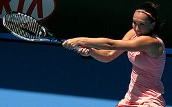 definition of backhand