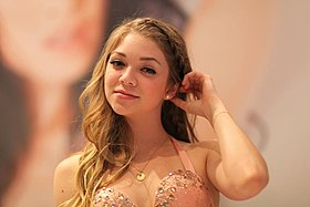 Jessie Andrews à l'AVN Adult Entertainment Expo de 2012