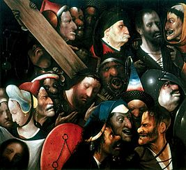 Hieronymus Bosch | Christ Carrying the Cross