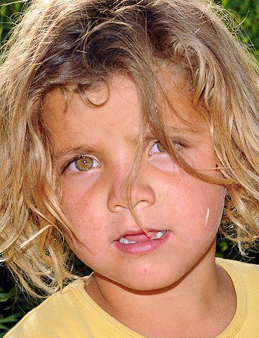 Kurdyjskie dziecko
