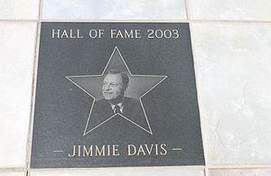 Jimmie Davis - Davis was posthumously inducted in 2003 into the Delta Music Museum Hall of Fame in Ferriday, Louisiana